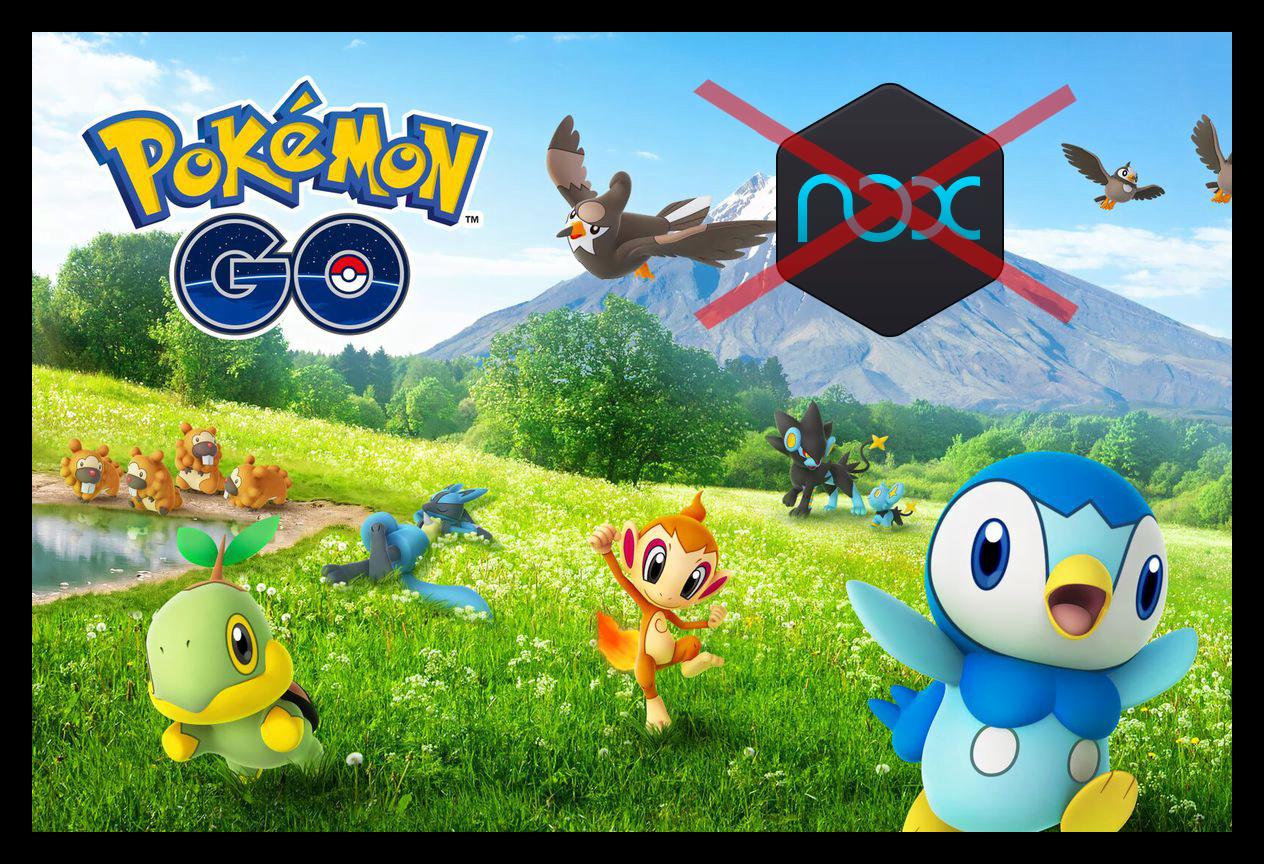 Картинка Как играть в Pokemon Go в Nox App Player