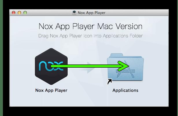 Установка Nox App Player для Mac OS