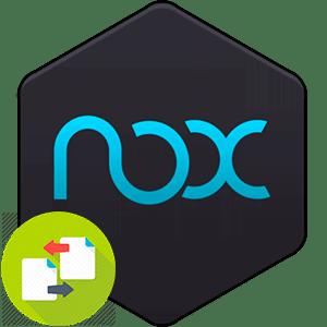 Как копировать файлы между Nox App Player и компьютером