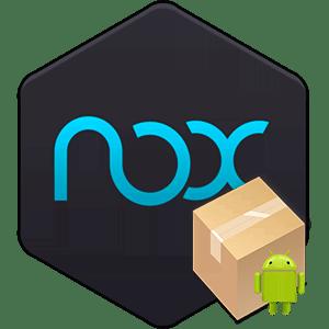 Установка приложений в Nox App Player