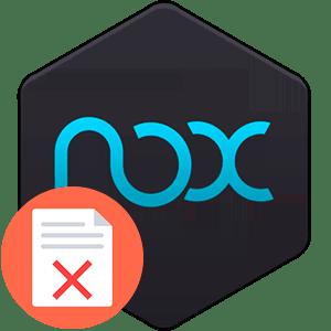 Что делать, если в приложении Nox Launcher произошла ошибка